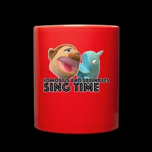 Jomosuis and Sprinkles Sing Time - Full Color Mug