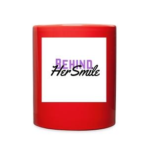 Behind Her Smile - Full Color Mug