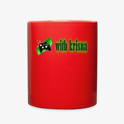 gaming with krisna merch - Full Color Mug