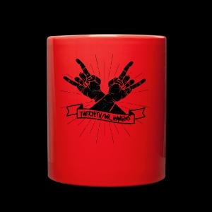 Rock Fists -black - Full Color Mug