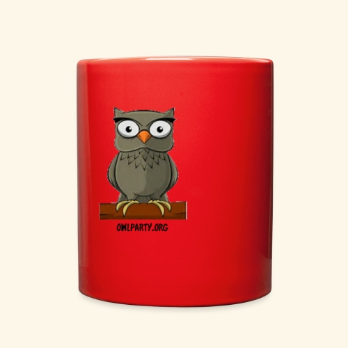 Owl Party - Full Color Mug