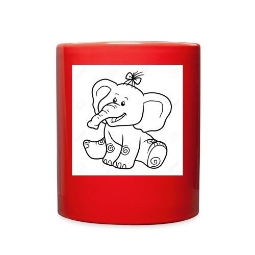 baby elephant - Full Color Mug