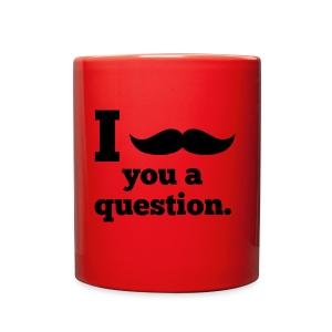 Moustashe Question - Full Color Mug