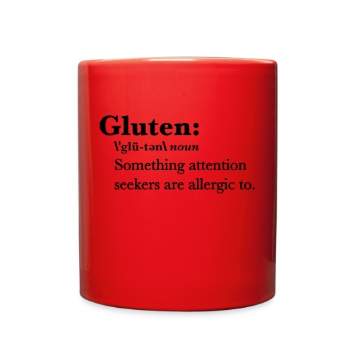 Gluten def - Full Color Mug