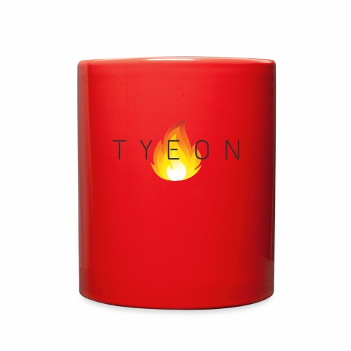 TYEON Flame Logo Black - Full Color Mug