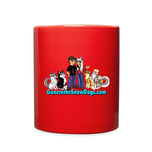 Snow Dogs Vlogs Logo - Full Color Mug
