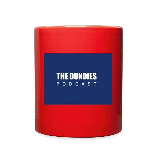 Dundies Podcast Logo - Full Color Mug