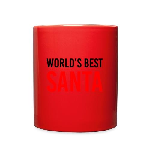 World's Best Santa Mug - Full Color Mug