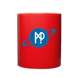 Mining Planet Logo PLANET transparent - Full Color Mug