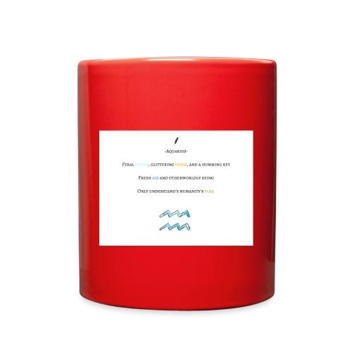 Aquarius (Mug) - Full Color Mug