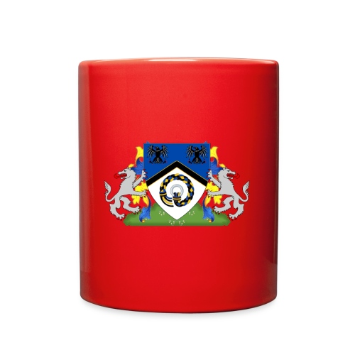 Kingdom of Hrafnarfjall Coat of Arms - Full Color Mug