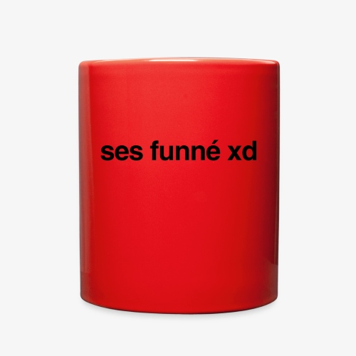 Her funnier xd (Black) - Full Color Mug