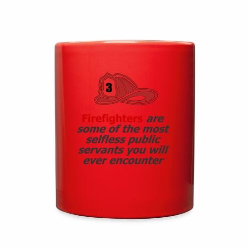 Custom phrase for firefighters - Full Color Mug