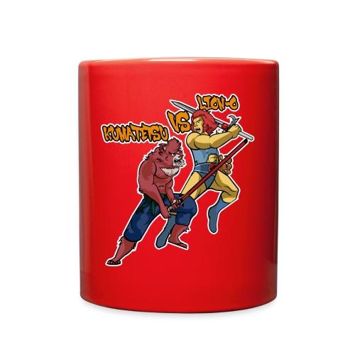 Kumatetsu VS Lion-o - Full Color Mug