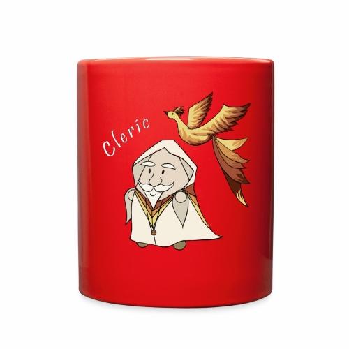 cleric white text - Full Color Mug