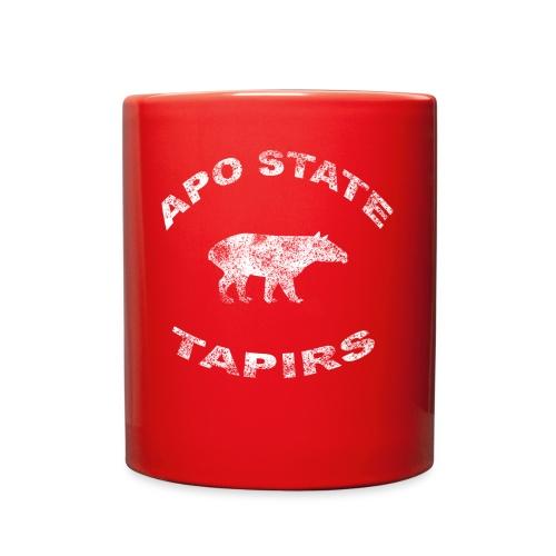 Apostate tapirs logo white - Full Color Mug