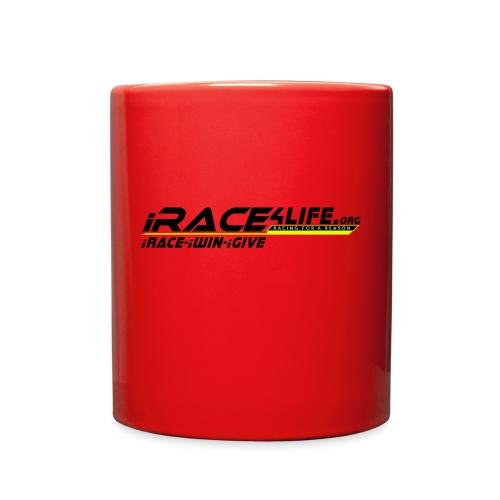 iRace4Life.org Logo with iRace-iWin-iGive! - Full Color Mug