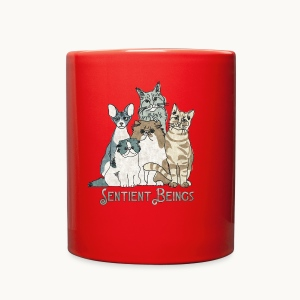 CATS - SENTIENT BEINGS - Carolyn Sandstrom - Full Color Mug