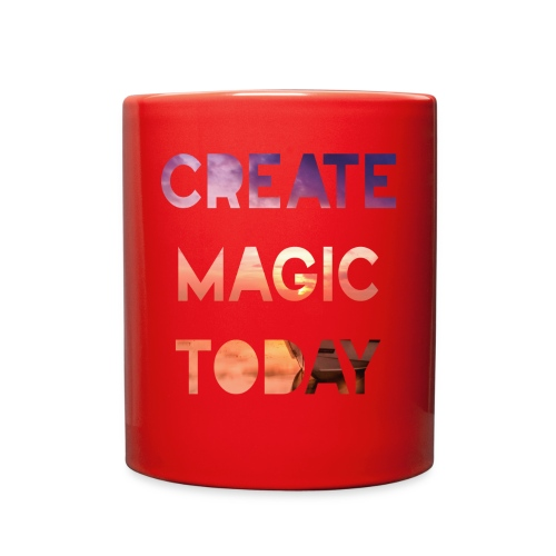 Create Magic Today - Sunset - Full Color Mug