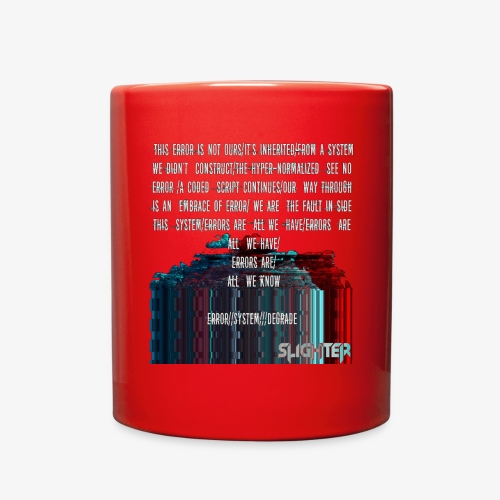 ERROR Lyrics - Full Color Mug