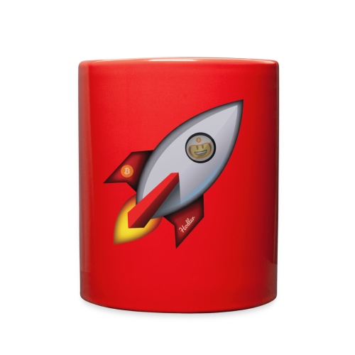 Bit for Buck: Hodler Rocket Coffee Mug - Full Color Mug