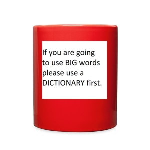 Dictionary First - Full Color Mug