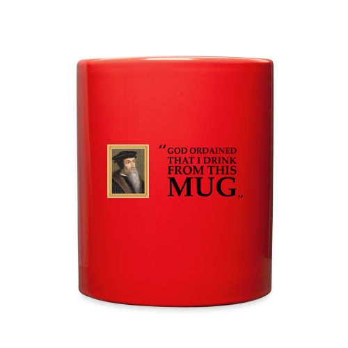 John Calvin Mug - Full Color Mug
