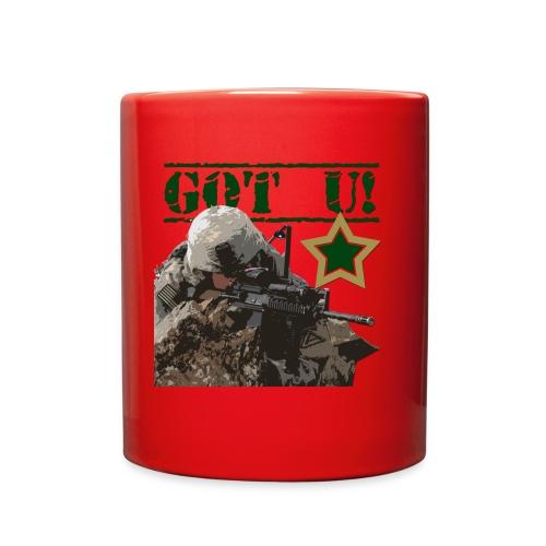 GOT U MILITARY STYLE - Full Color Mug
