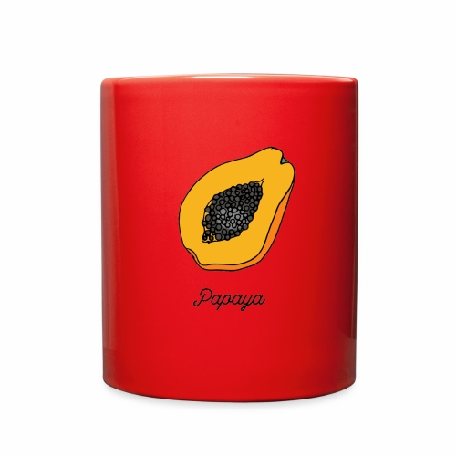 Tropical Papaya - Full Color Mug
