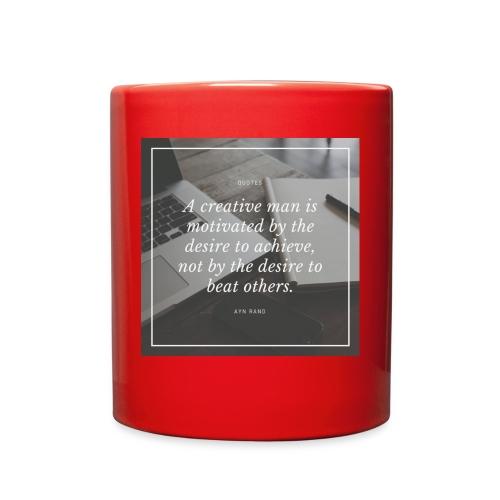 Ayn Rand Quote - Full Color Mug
