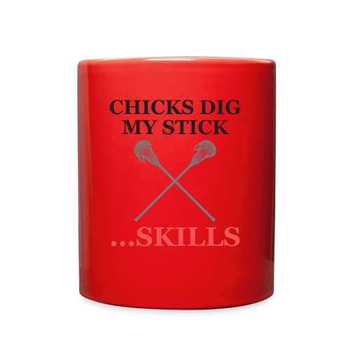 Chicks Dig My Stick ... Skills - Full Color Mug
