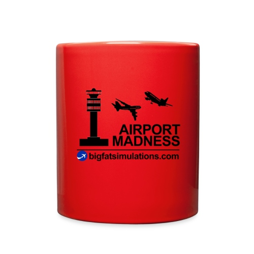 The Official Airport Madness Mug - Full Color Mug