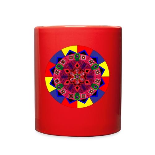 Mandala Colourful Cool Design - Full Color Mug