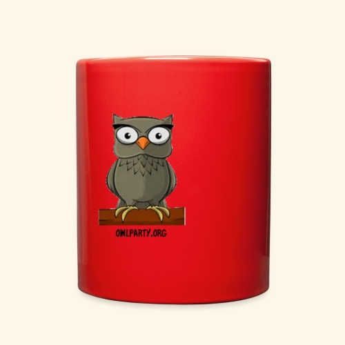 Owl Party - Full Color Mug