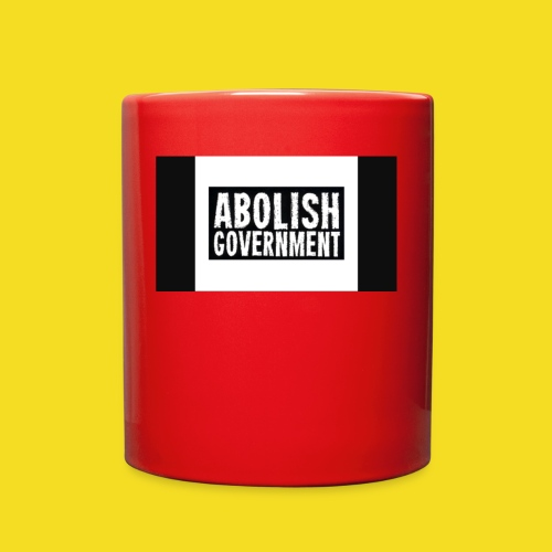 Freedom 2020 Abolish Government - Full Color Mug