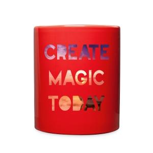 Create Magic Today - Sunset - Full Color Mug