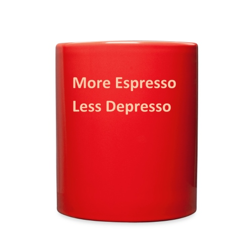 Espresso Depresso - Full Color Mug