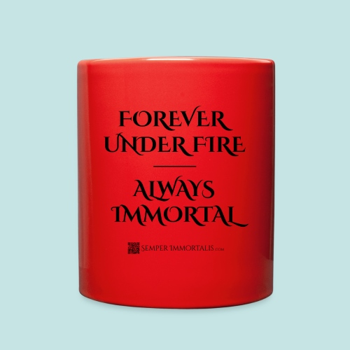 Always Immortal (black) - Full Color Mug