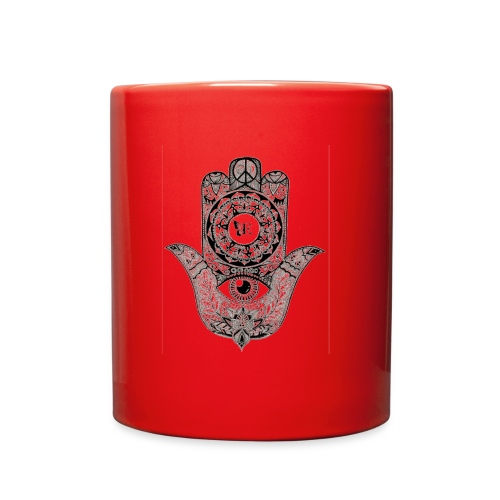 Ezina Hamsa Design - Full Color Mug
