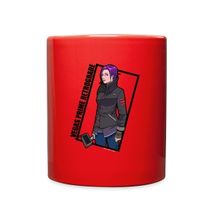 Vegas Prime Retrograde - Clara with Black Border - Full Color Mug