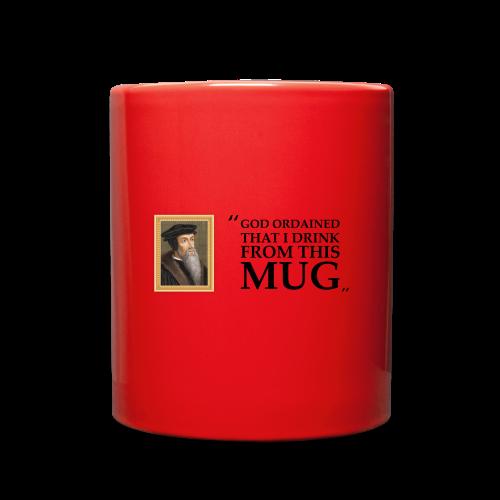 John Calvin Mug - Full Color Mug