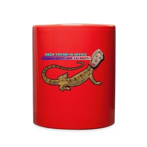 HILLARY THE LIZARD - Full Color Mug