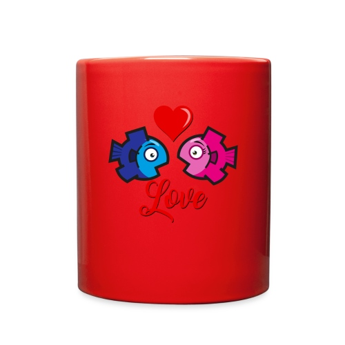 Love under the sea - Full Color Mug