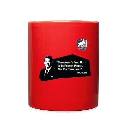 College Republicans UT - Ronald Reagan - Full Color Mug