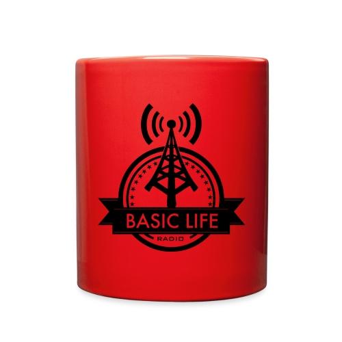 Basic-Life-Radio-Logo - Full Color Mug