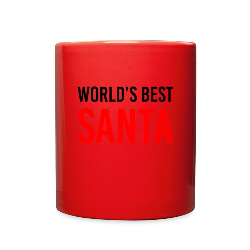 World's Best Santa Mug - Full Color Mug