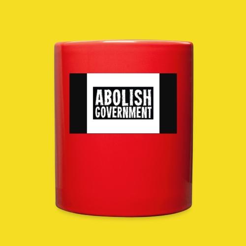 Freedom 2020 Abolish Government - Full Color Mug