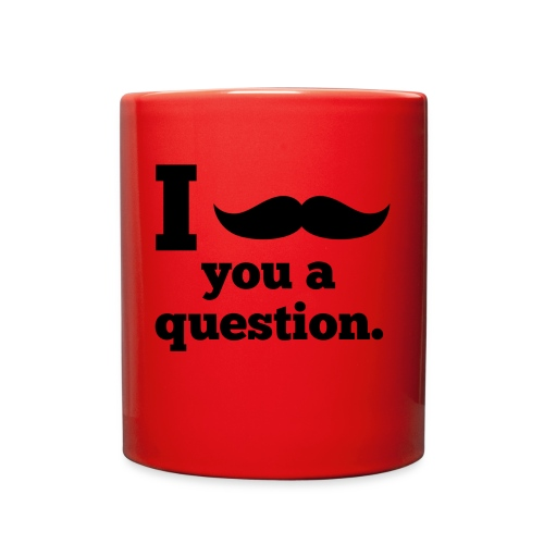 Moustashe Question - Full Color Mug