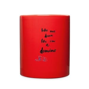 Domino lyrics - Full Color Mug