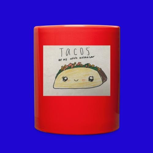 Tacos are my Spirit Animal - Full Color Mug